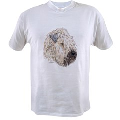 Soft Coated Wheaten terrier Ash Grey Value T-shirt