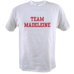 TEAM MADELEINE Ash Grey Value T-shirt
