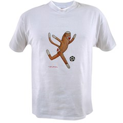 Soccer Monkey (Great for Coach!) Value T-shirt