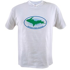 Upper Peninsula Oval Value T-shirt