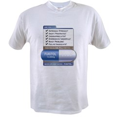 Fukitol Ash Grey Value T-shirt