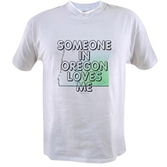 Someone in Oregon Value T-shirt