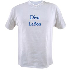 Diva LeBon Ash Grey Value T-shirt