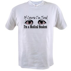 Medical Student Ash Grey Value T-shirt