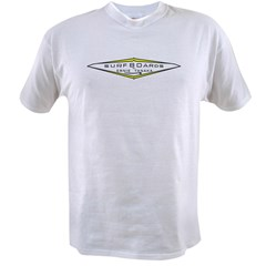 New 60's Tanaka Surfboards Ash Grey Value T-shirt