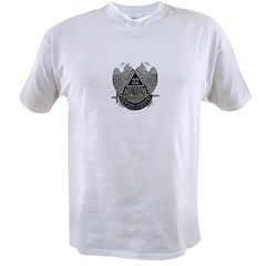 32nd degree Ash Grey Value T-shirt