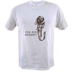 Fiji Mermaid Men''s Value T-shirt