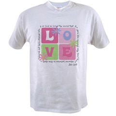 John 3:16 Value T-shirt