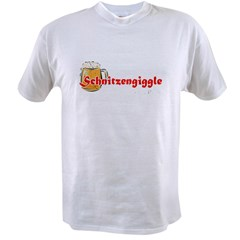 schnitzengiggle-black Value T-shirt