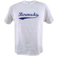 Blue Vintage: Bermuda Ash Grey Value T-shirt
