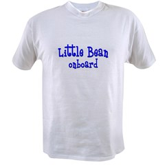 Little bean onboard blue Value T-shirt