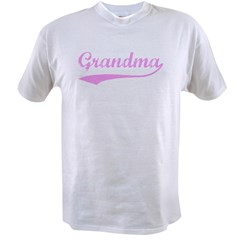 Vintage (Pink) Grandma Value T-shirt