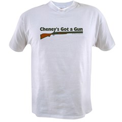 Cheney's got a gun Value T-shirt