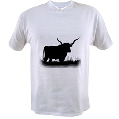 Longhorn Ash Grey Value T-shirt