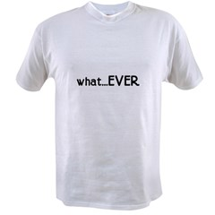 whatEVER Ash Grey Value T-shirt