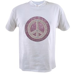 Diamond Peace Sign Value T-shirt