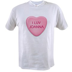 I Luv JOANNA Candy Heart Value T-shirt