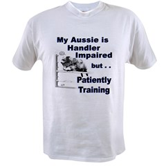 Aussie Agility Ash Grey Value T-shirt