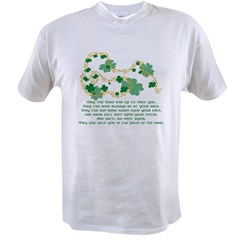 Irish Blessing Ash Grey Value T-shirt