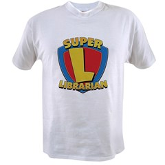 SuperLibrarianDrkT Value T-shirt