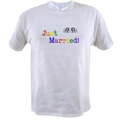 Just Married Value T-shirt