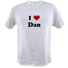 I Love Dan Value T-shirt