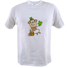 Leprechaun Monkey Value T-shirt