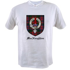 MacNaughton Clan Crest Tartan Value T-shirt