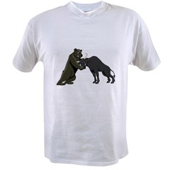 Bull vs. Bear Markets Value T-shirt