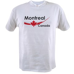 Montreal Canada Value T-shirt