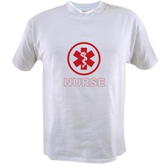NURSE RED Value T-shirt