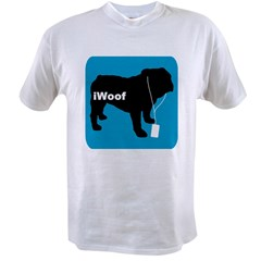 iWoof Bulldog Value T-shirt