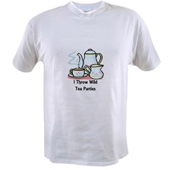 Wild Tea Parties Value T-shirt