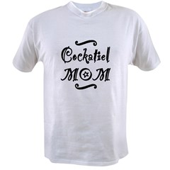 Cockatiel MOM Value T-shirt