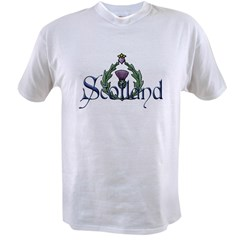 Scotland: Thistle Value T-shirt
