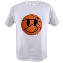 Basketball Smiley Value T-shirt