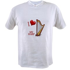 I Love My HARP Value T-shirt