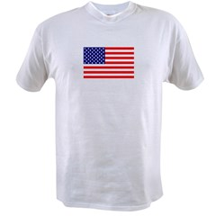 AMERICAN FLAG Value T-shirt