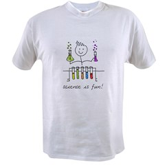 Science is fun! Value T-shirt