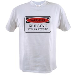 Attitude Detective Value T-shirt