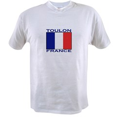 Toulon, France Value T-shirt