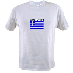 Santorini, Greece Value T-shirt