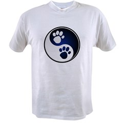 Paw Ying Yang Value T-shirt