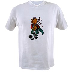 Jimmie the Scottish Piper Bear Value T-shirt