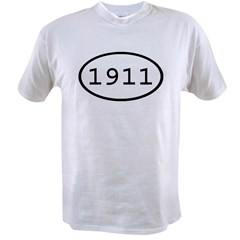 1911 Oval Value T-shirt