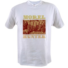 morel mushroom hunter gifts Value T-shirt
