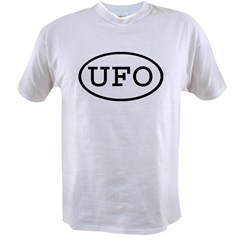 UFO Oval Value T-shirt