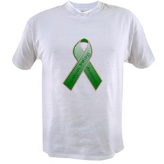 Cerebral Palsy Ribbon Value T-shirt