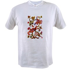 Jacobean Embroidery Value T-shirt