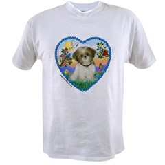 Shih Tzu in my heart (P) Value T-shirt